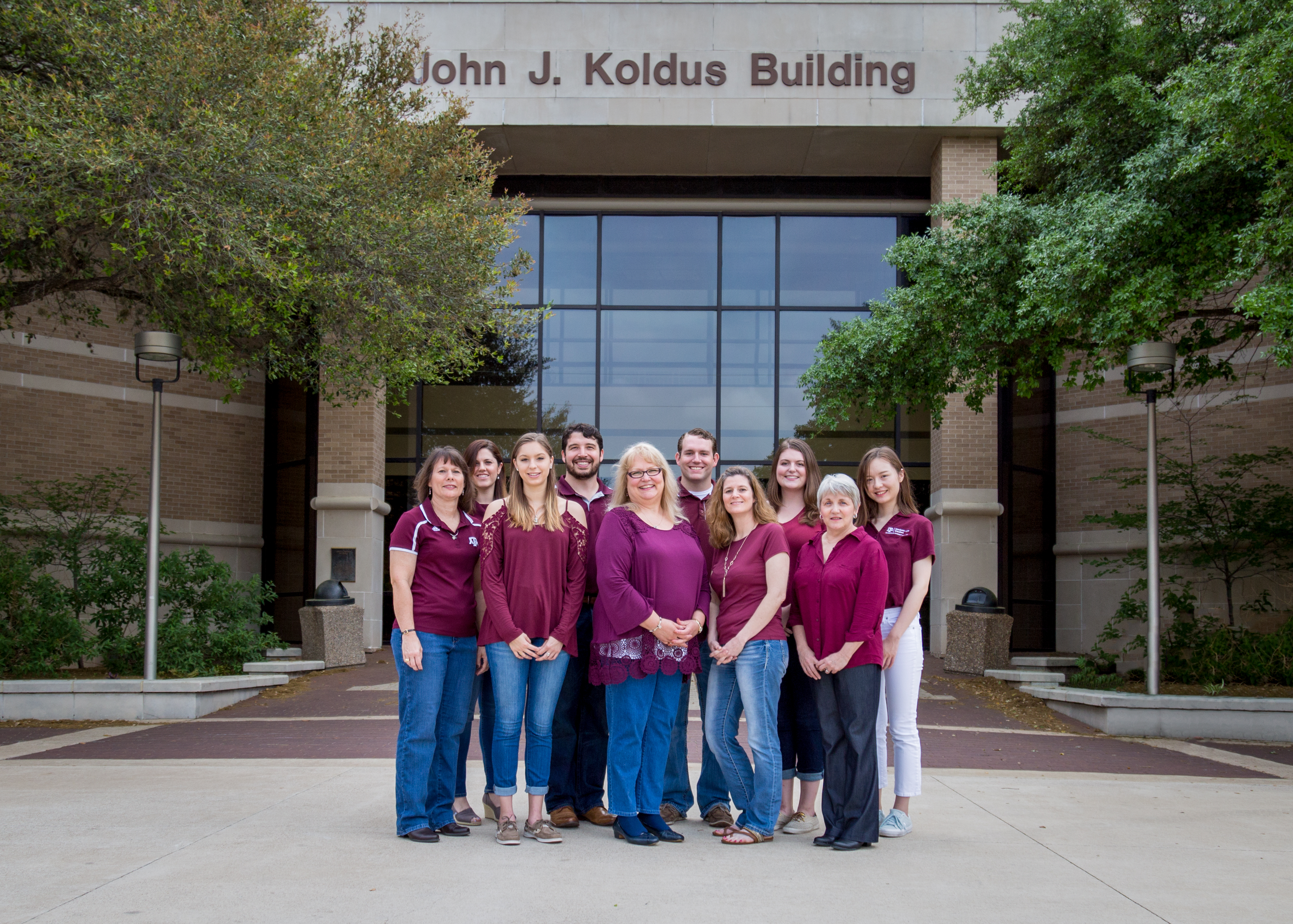 Photo of the Student Life Studies team as of August 2017